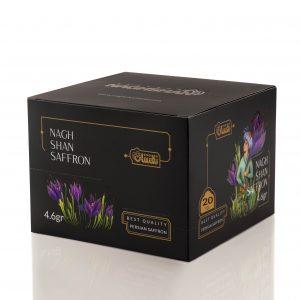 Naghshan Saffron 4.6 g packet (20 counts)